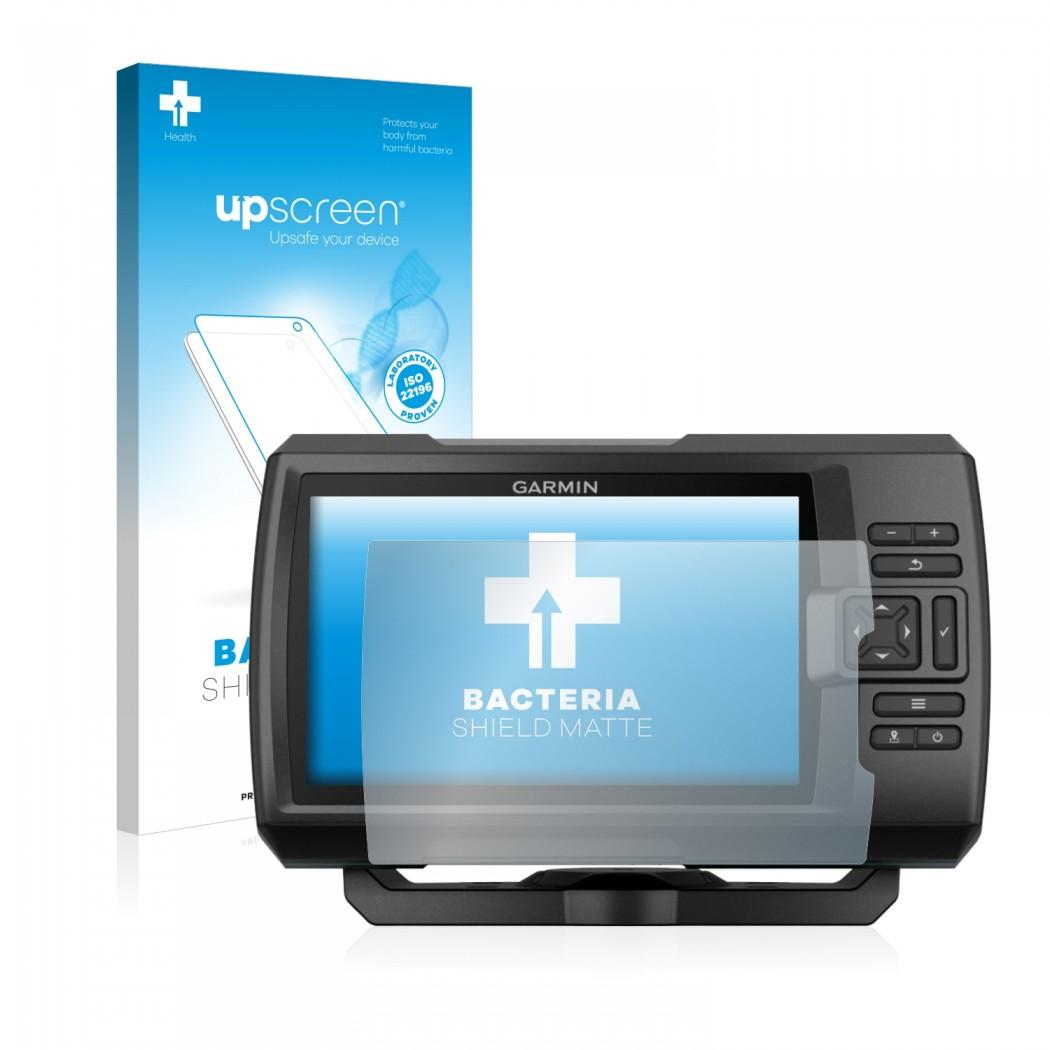 upscreen Bacteria Shield Matte Protector for Garmin Striker Plus 5cv