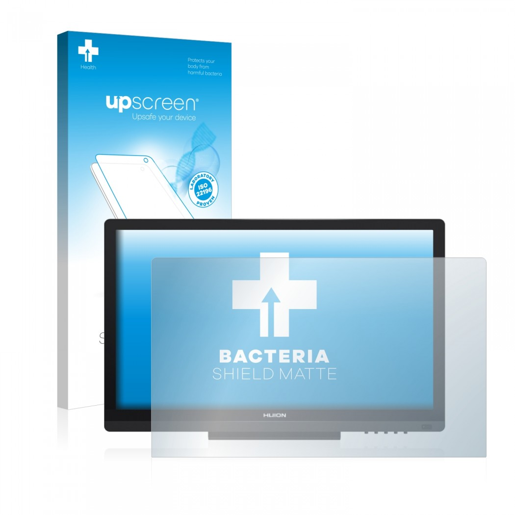 upscreen® Bacteria Shield Matte Protector for Huion GT-191