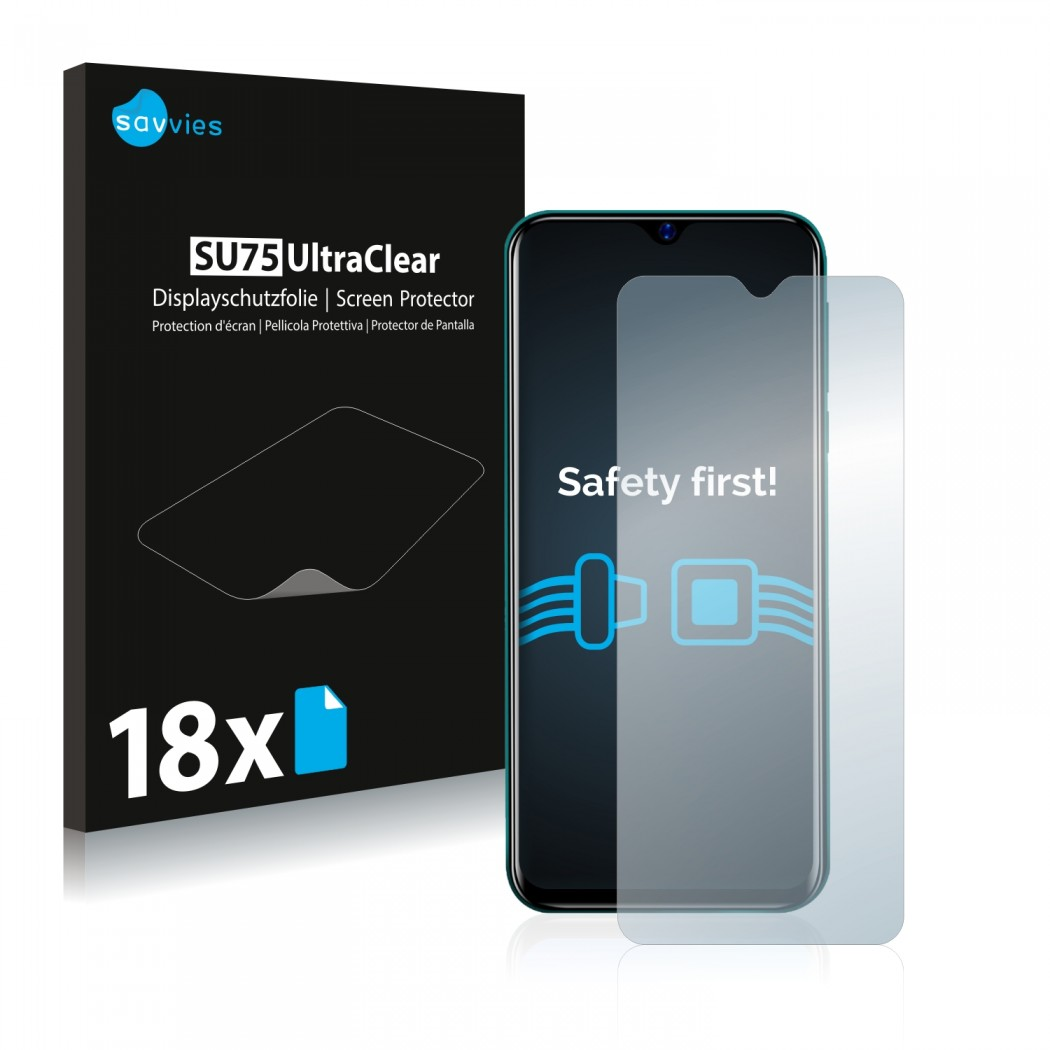 18x Savvies® Screen Protector for Blackview A60 Pro