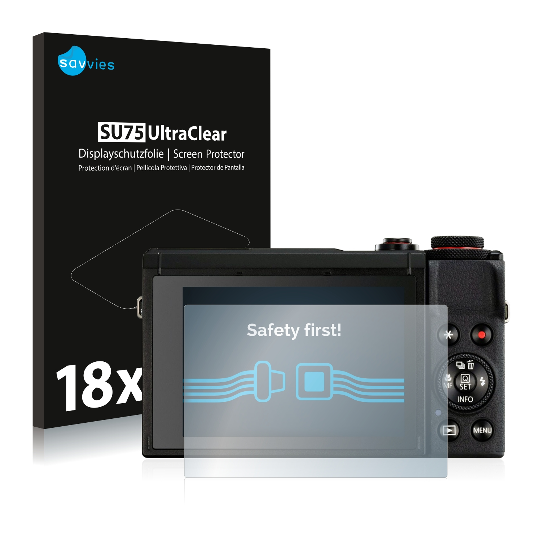 Pellicola protettiva per Canon PowerShot g5x Mark II display pellicola opaca