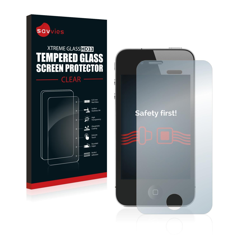 Tvrzené sklo Savvies Xtreme Glass HD33 pro Apple iPhone 4S