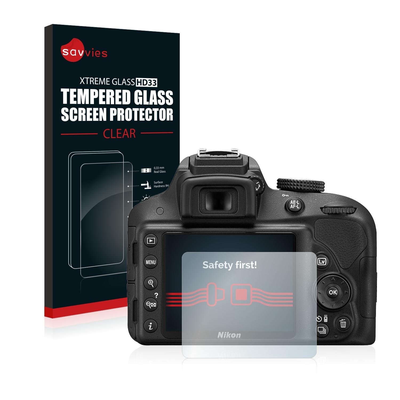 cf22c8e49e730 Detalles de Protector Pantalla para Nikon D3300 Cristal Templado Vidrio