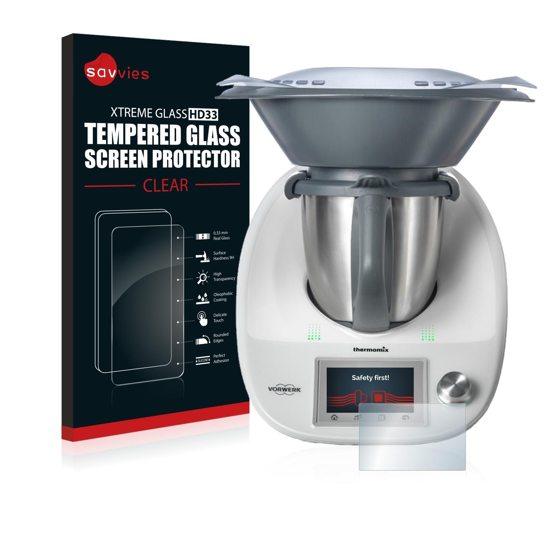 Cooking Chef Ou Thermomix Avis détails sur vorwerk thermomix tm5 verre trempé 9h vitre protection Écran  film protecteur