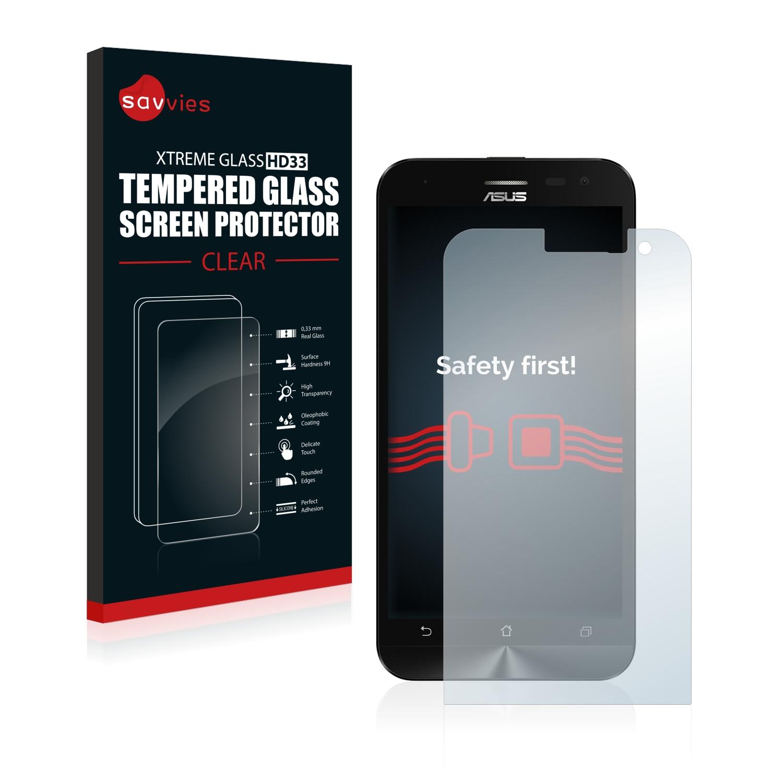 Tvrzené sklo Savvies Xtreme Glass HD33 pro Asus ZenFone 2 Laser ZE500KL