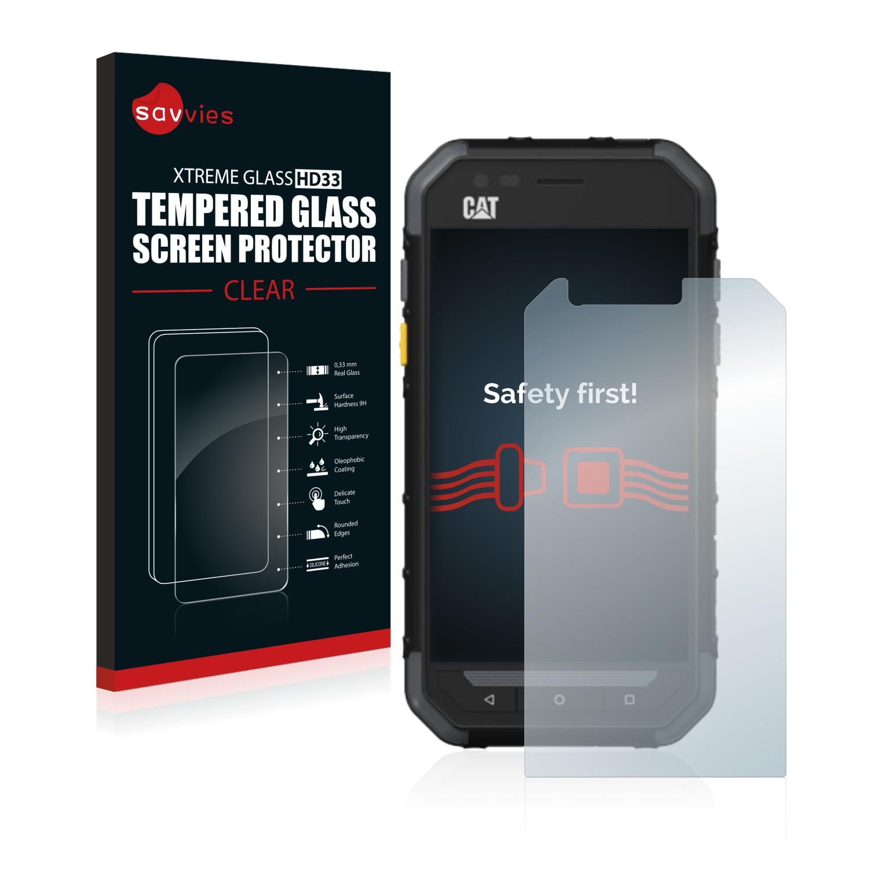 Tvrzené sklo Savvies Xtreme Glass HD33 pro Caterpillar Cat S30
