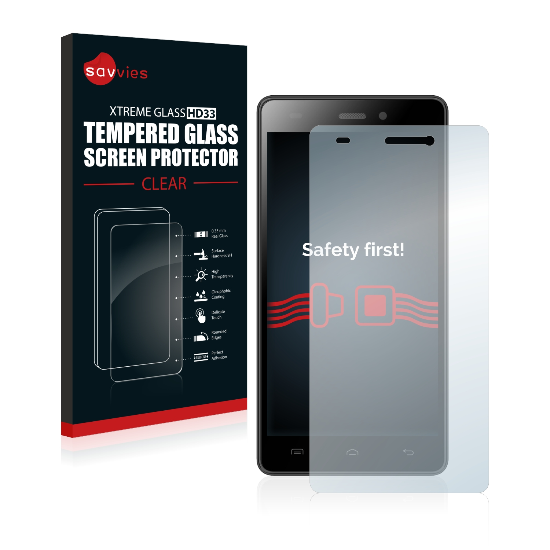 Tvrzené sklo Savvies Xtreme Glass HD33 pro Doogee Galicia X5 Pro