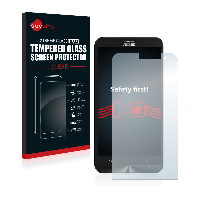 Tvrzené sklo Savvies Xtreme Glass HD33 pro Asus ZenFone 2 Laser ZE500KG