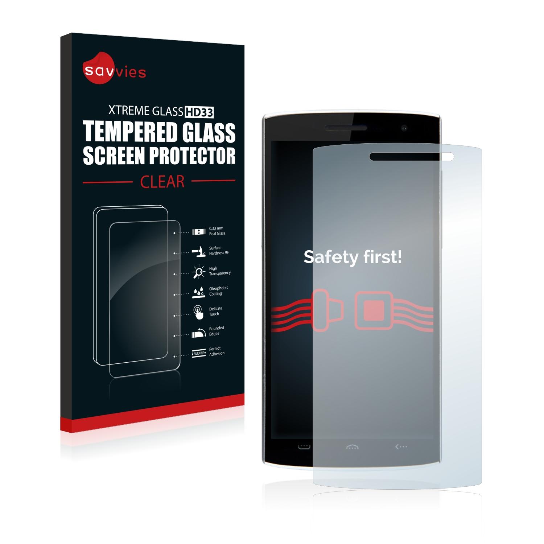 Tvrzené sklo Savvies Xtreme Glass HD33 pro Doogee Homtom HT7