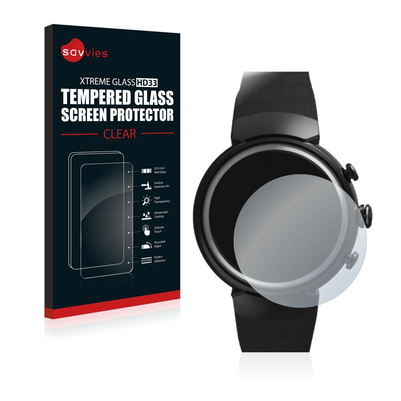 Tvrzené sklo Savvies Xtreme Glass HD33 pro Asus ZenWatch 3 1.39