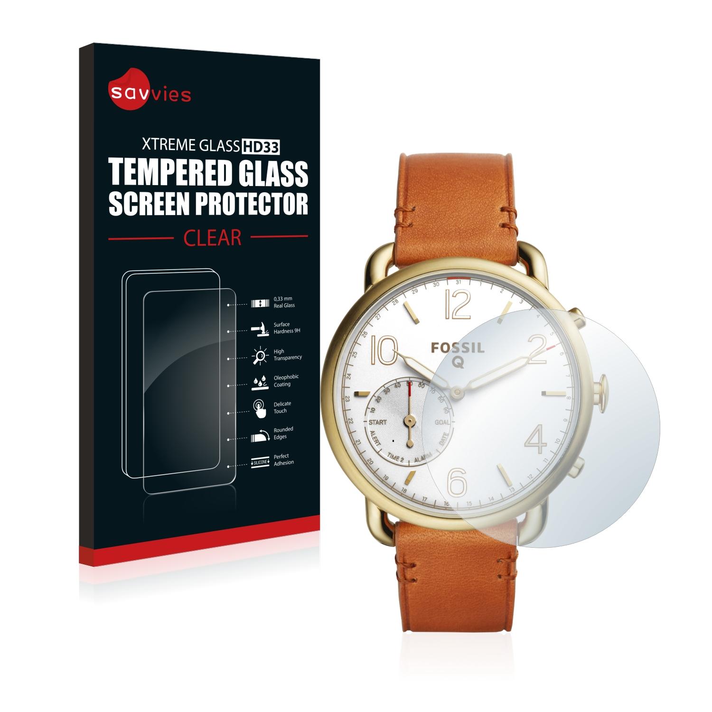 Tvrzené sklo Savvies Xtreme Glass HD33 pro Fossil Q Tailor