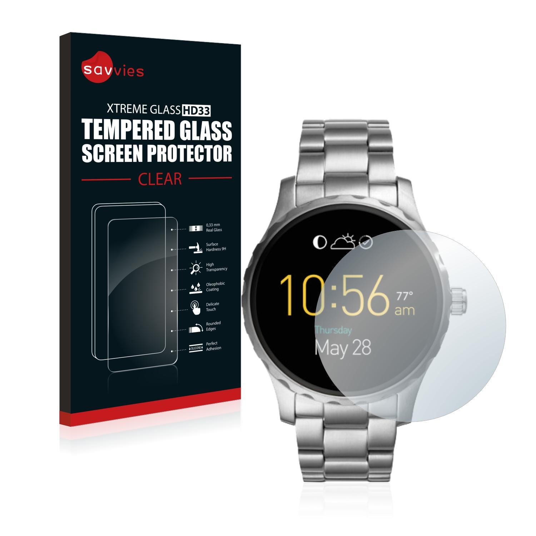 Tvrzené sklo Savvies Xtreme Glass HD33 pro Fossil Q Marshal
