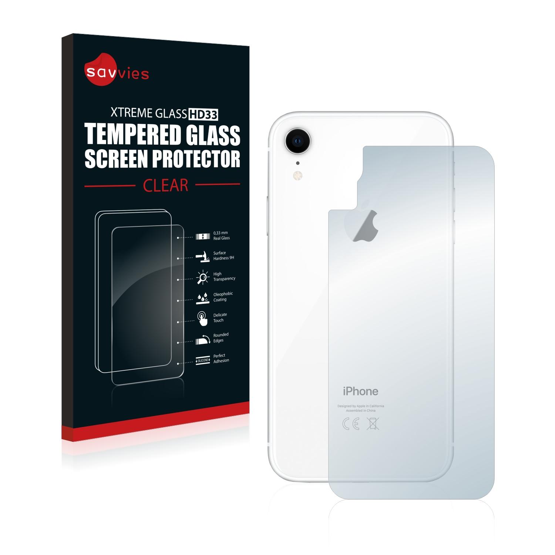 Tvrzené sklo Savvies Xtreme Glass HD33 pro Apple iPhone XR (Zadní strana)