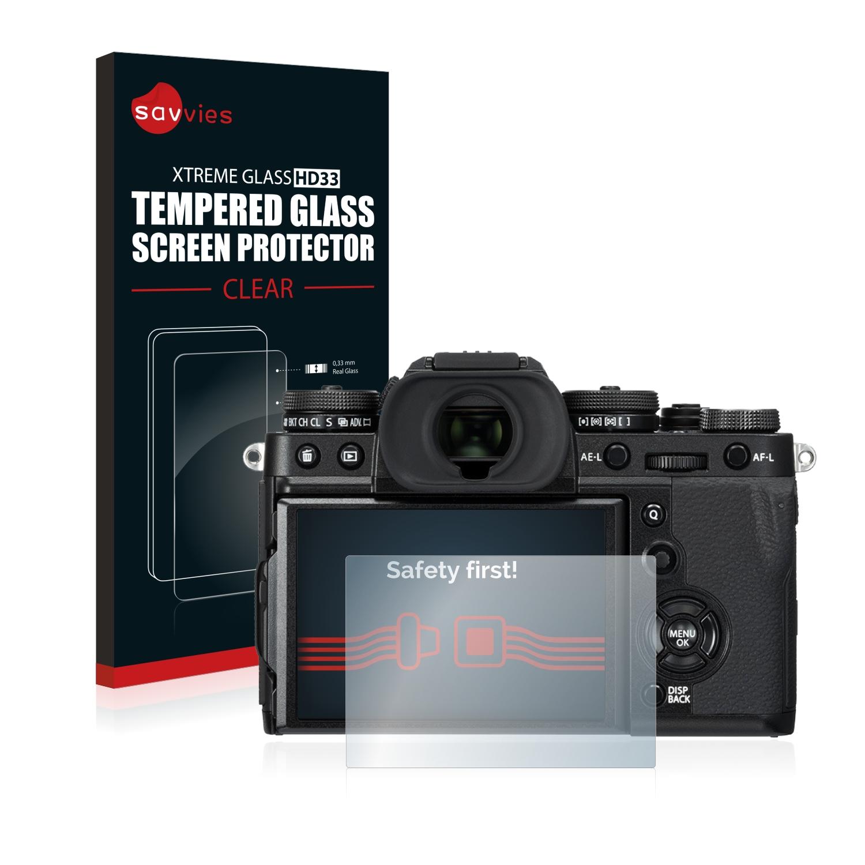 Tvrzené sklo Savvies Xtreme Glass HD33 pro FujiFilm X-T3
