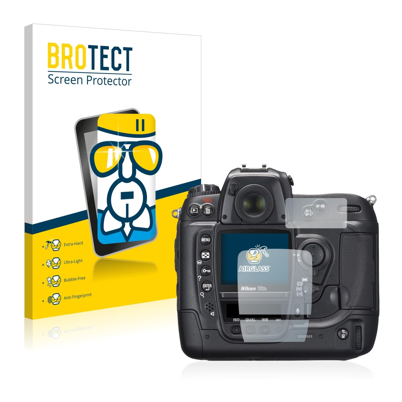BROTECT AirGlass čirá skleněná fólie pro Nikon D2X