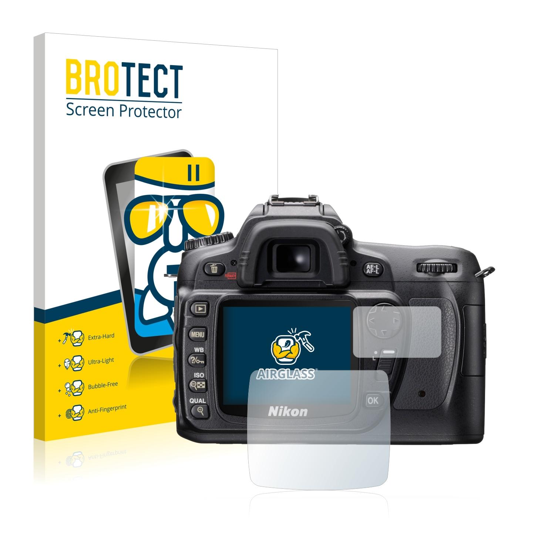 BROTECT AirGlass čirá skleněná fólie pro Nikon D80
