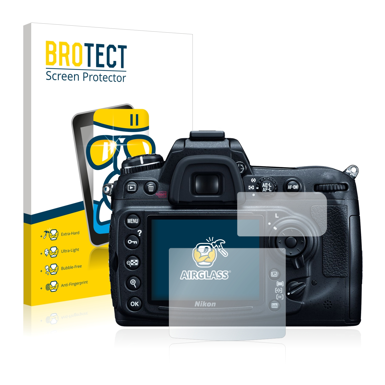 BROTECT AirGlass čirá skleněná fólie pro Nikon D300