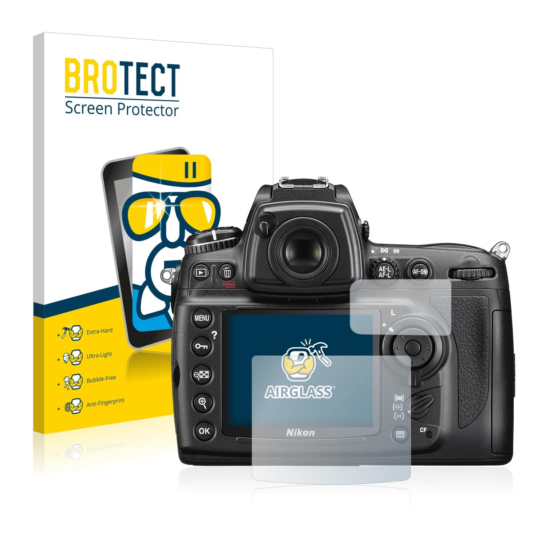 BROTECT AirGlass čirá skleněná fólie pro Nikon D700