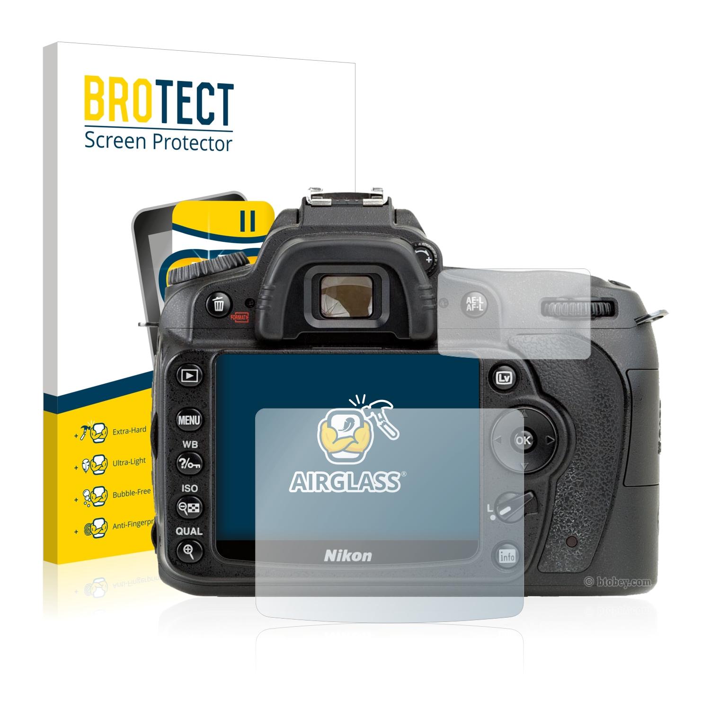 BROTECT AirGlass čirá skleněná fólie pro Nikon D90
