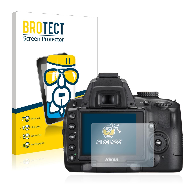 BROTECT AirGlass čirá skleněná fólie pro Nikon D5000