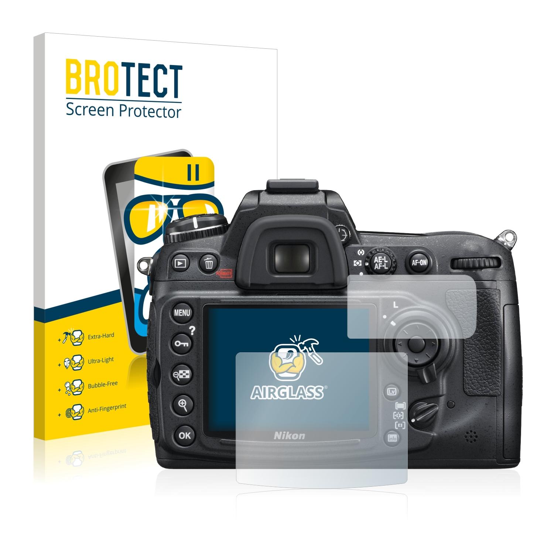 BROTECT AirGlass čirá skleněná fólie pro Nikon D300S