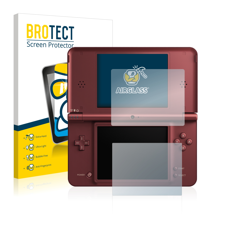 BROTECT AirGlass čirá skleněná fólie pro Nintendo DSi XL