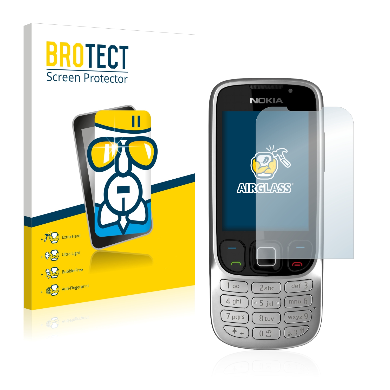 BROTECT AirGlass čirá skleněná fólie pro Nokia 6303i classic