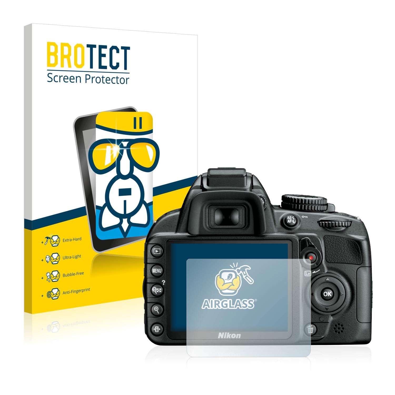 BROTECT AirGlass čirá skleněná fólie pro Nikon D3100