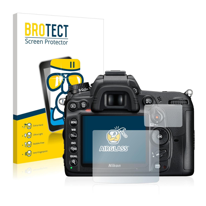 BROTECT AirGlass čirá skleněná fólie pro Nikon D7000