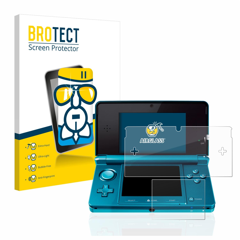 BROTECT AirGlass čirá skleněná fólie pro Nintendo 3DS