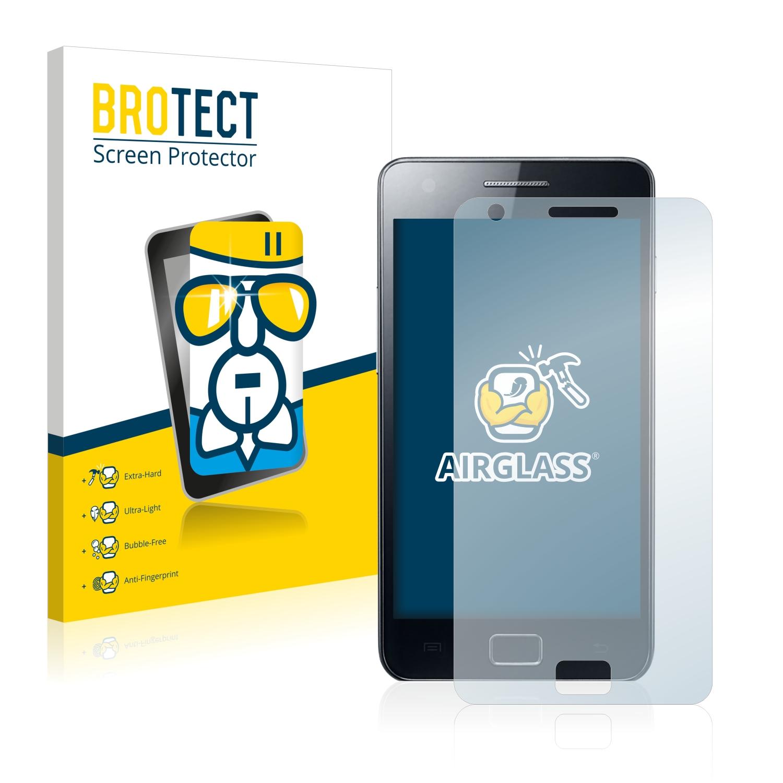 BROTECT AirGlass čirá skleněná fólie pro Samsung GT-i9100