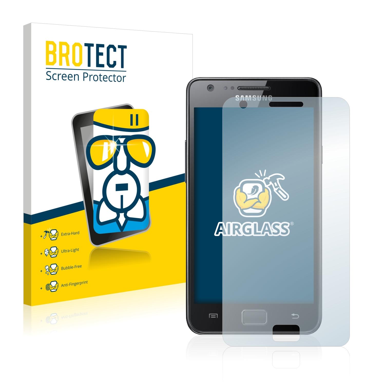 BROTECT AirGlass čirá skleněná fólie pro Samsung Galaxy S2