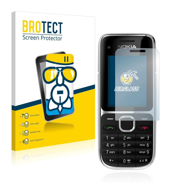 BROTECT AirGlass čirá skleněná fólie pro Nokia C2-01