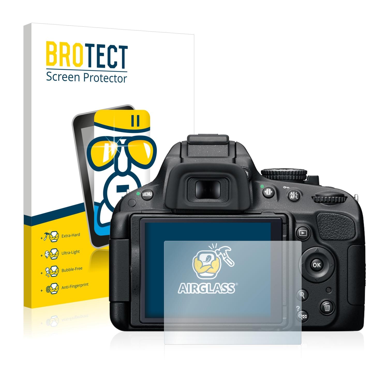 BROTECT AirGlass čirá skleněná fólie pro Nikon D5100