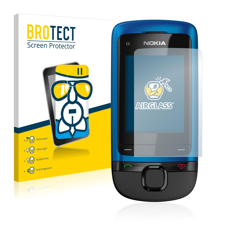 BROTECT AirGlass čirá skleněná fólie pro Nokia C2-05