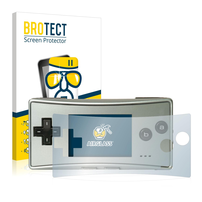 BROTECT AirGlass čirá skleněná fólie pro Nintendo Gameboy Micro