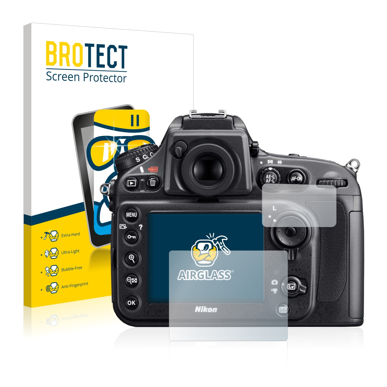 BROTECT AirGlass čirá skleněná fólie pro Nikon D800