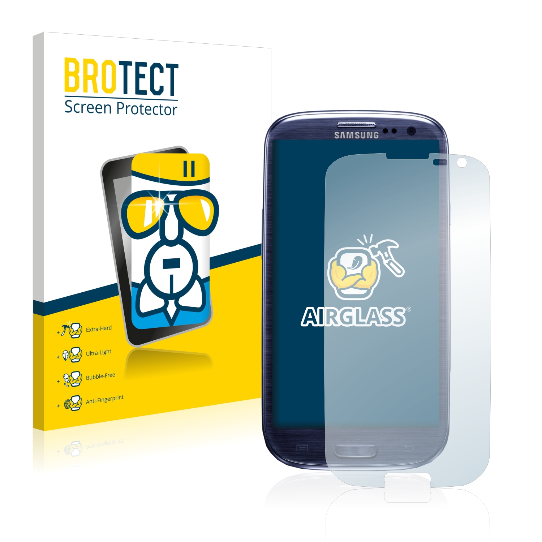 BROTECT AirGlass čirá skleněná fólie pro Samsung Galaxy S3 I9300