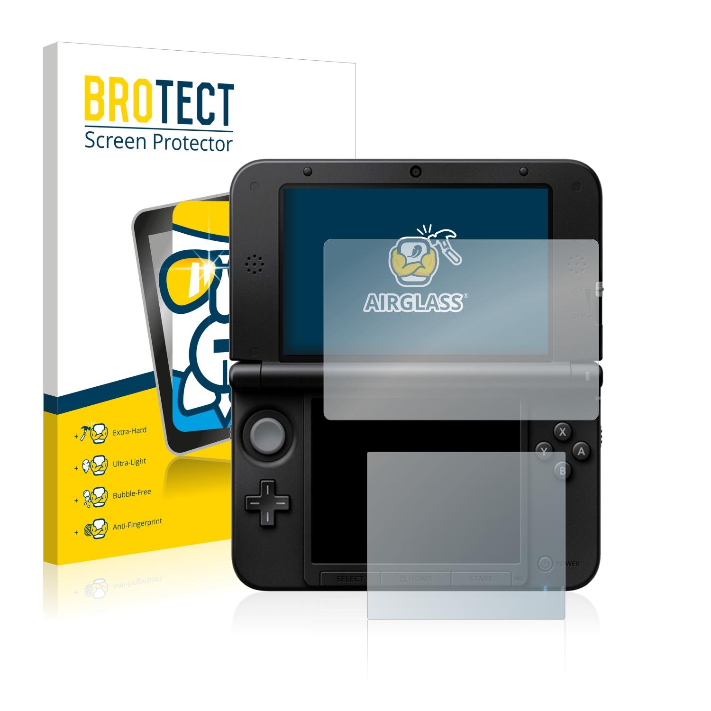 BROTECT AirGlass čirá skleněná fólie pro Nintendo 3DS XL SPM7800