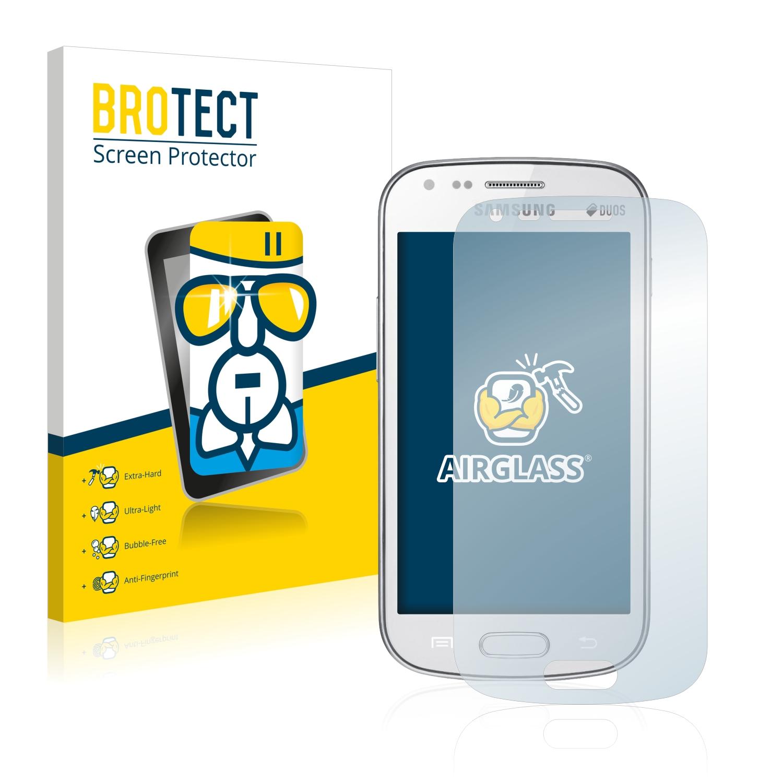 BROTECT AirGlass čirá skleněná fólie pro Samsung Galaxy S Duos S7562