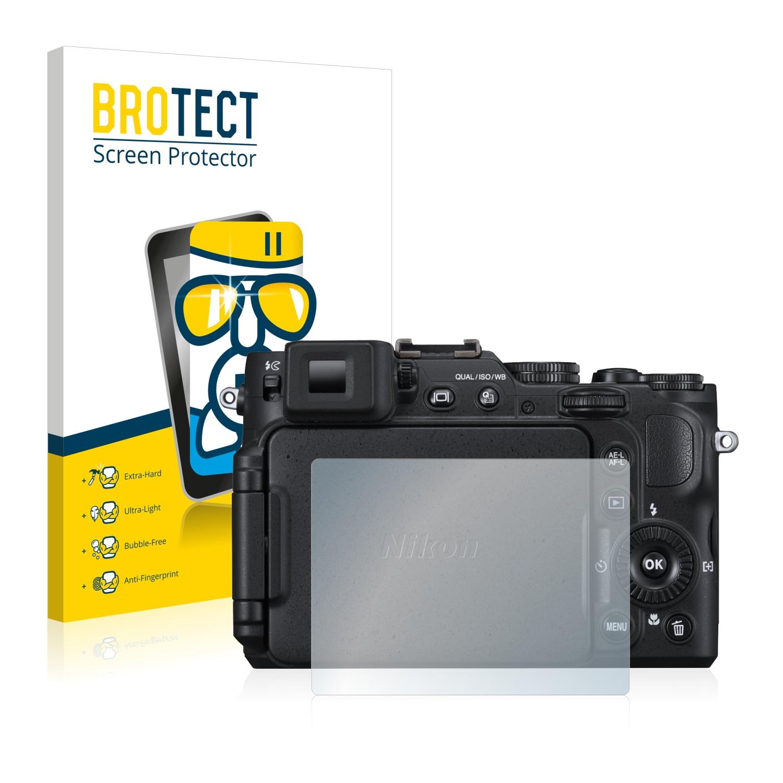 BROTECT AirGlass čirá skleněná fólie pro Nikon Coolpix P7700