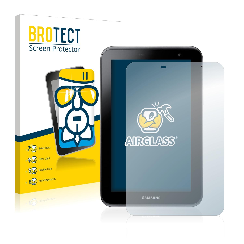 BROTECT AirGlass čirá skleněná fólie pro Samsung Galaxy Tab 2 7.0