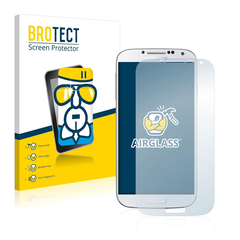 BROTECT AirGlass čirá skleněná fólie pro Samsung Galaxy S4