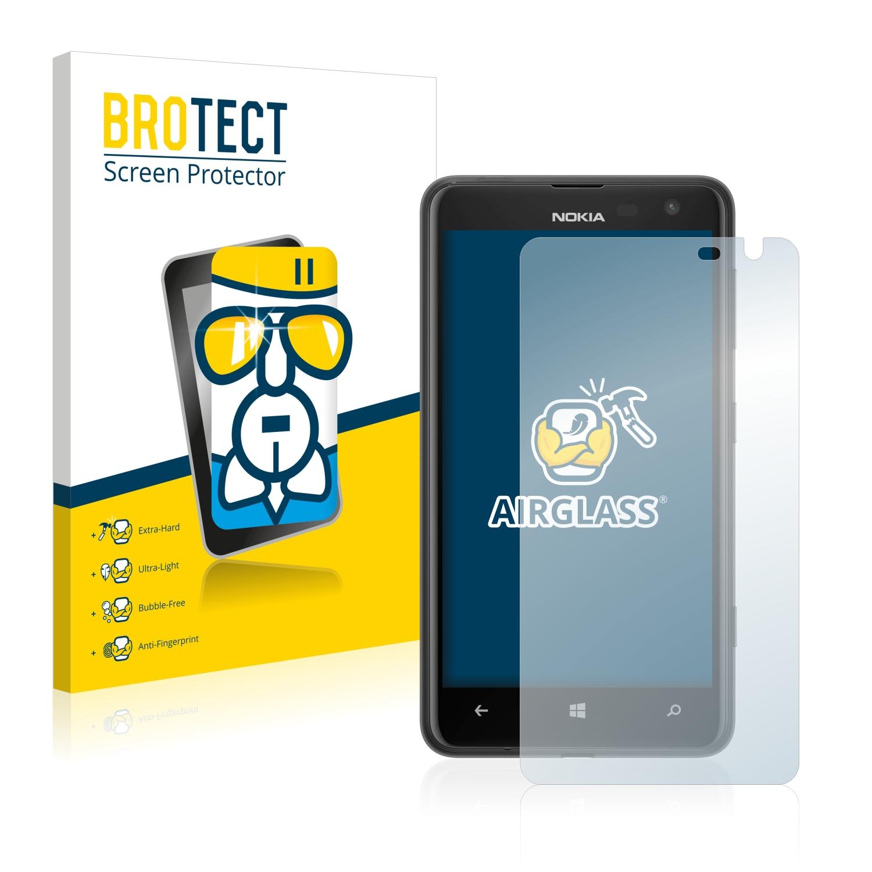 BROTECT AirGlass čirá skleněná fólie pro Nokia Lumia 625