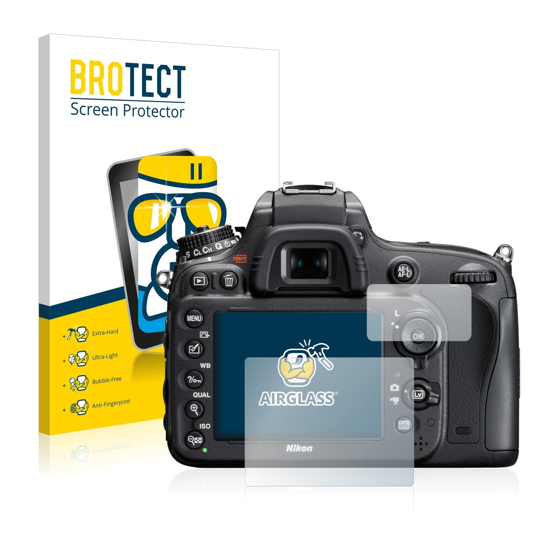 BROTECT AirGlass čirá skleněná fólie pro Nikon D610