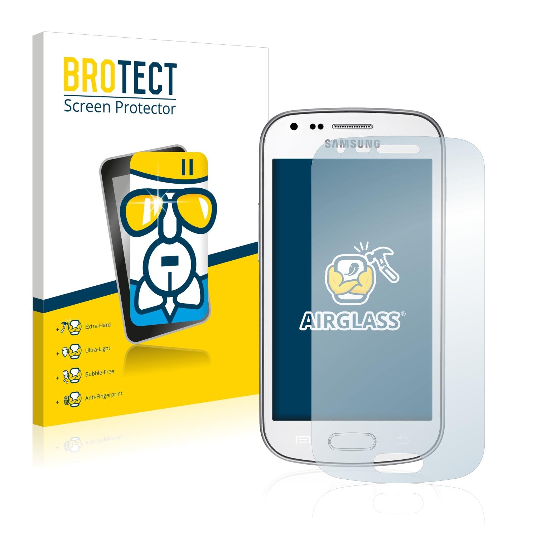 BROTECT AirGlass čirá skleněná fólie pro Samsung Galaxy Trend Plus S7580