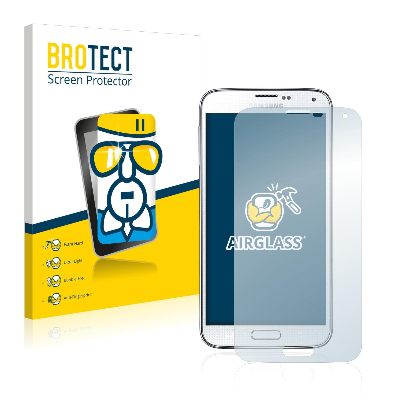 BROTECT AirGlass čirá skleněná fólie pro Samsung Galaxy S5