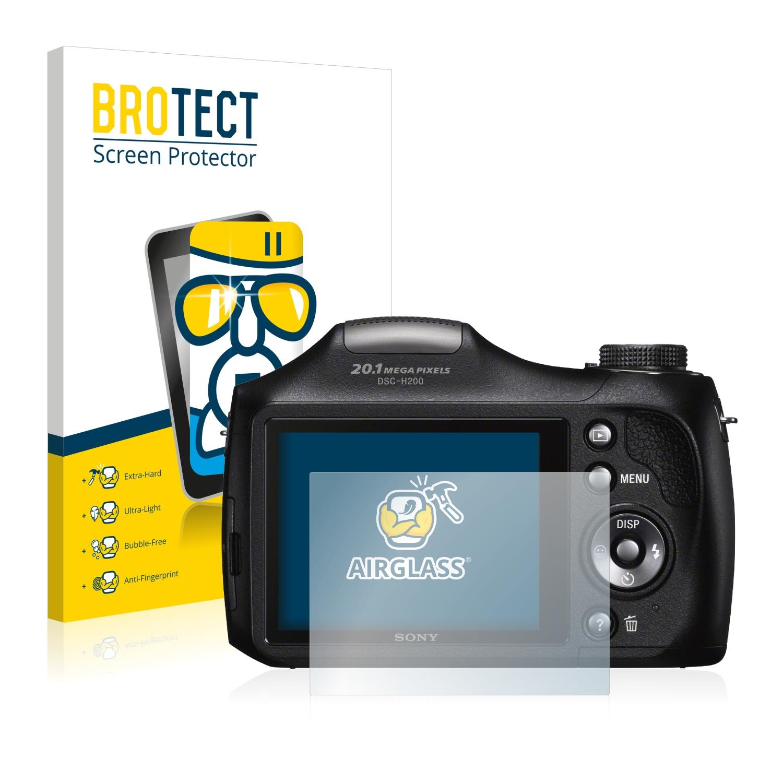 BROTECT AirGlass čirá skleněná fólie pro Sony Cyber-Shot DSC-H300