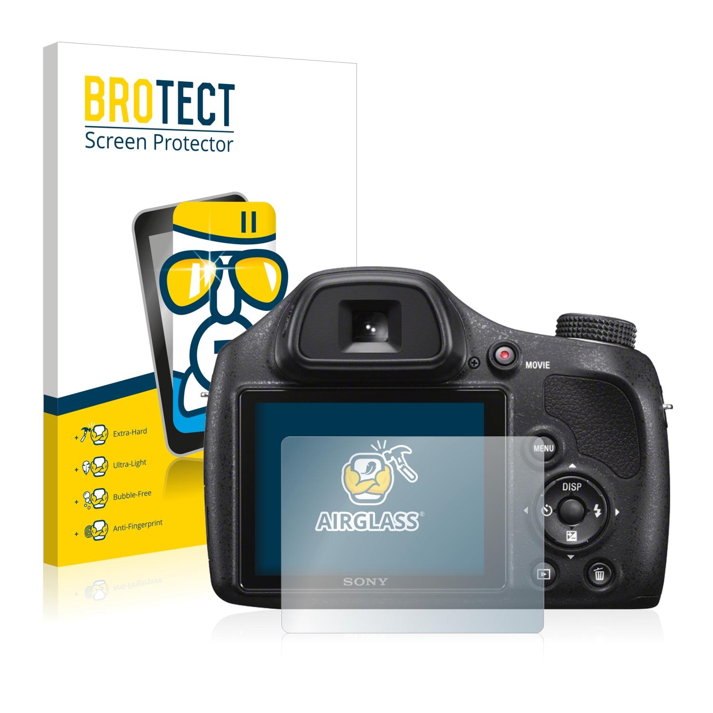 BROTECT AirGlass čirá skleněná fólie pro Sony Cyber-Shot DSC-H400