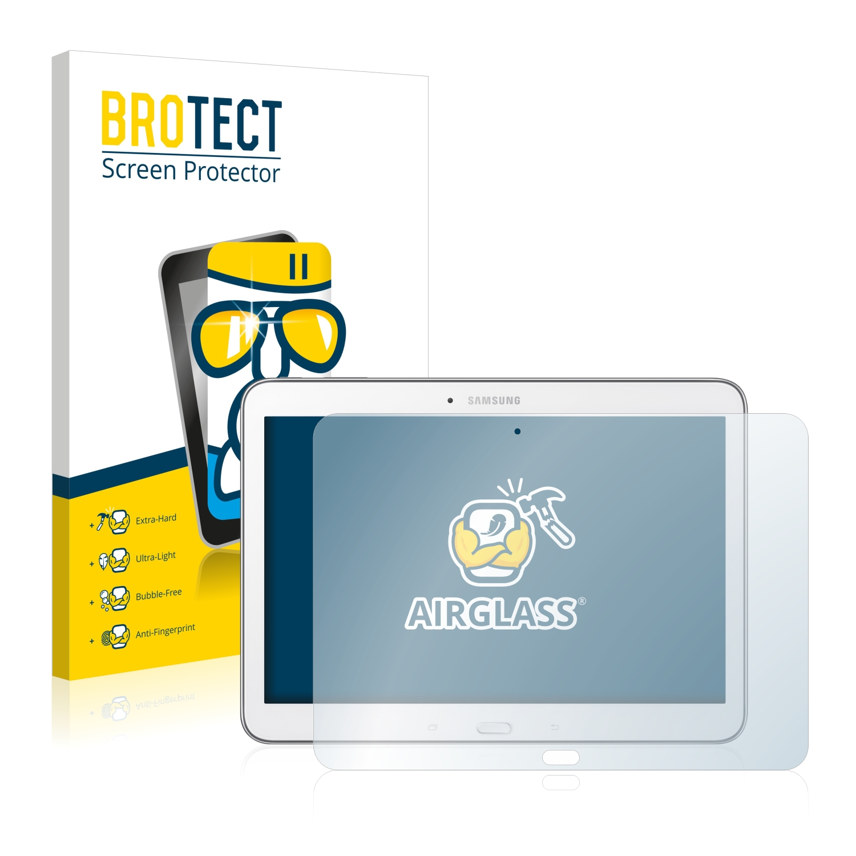 BROTECT AirGlass čirá skleněná fólie pro Samsung Galaxy Tab 4 10.1 SM-T530