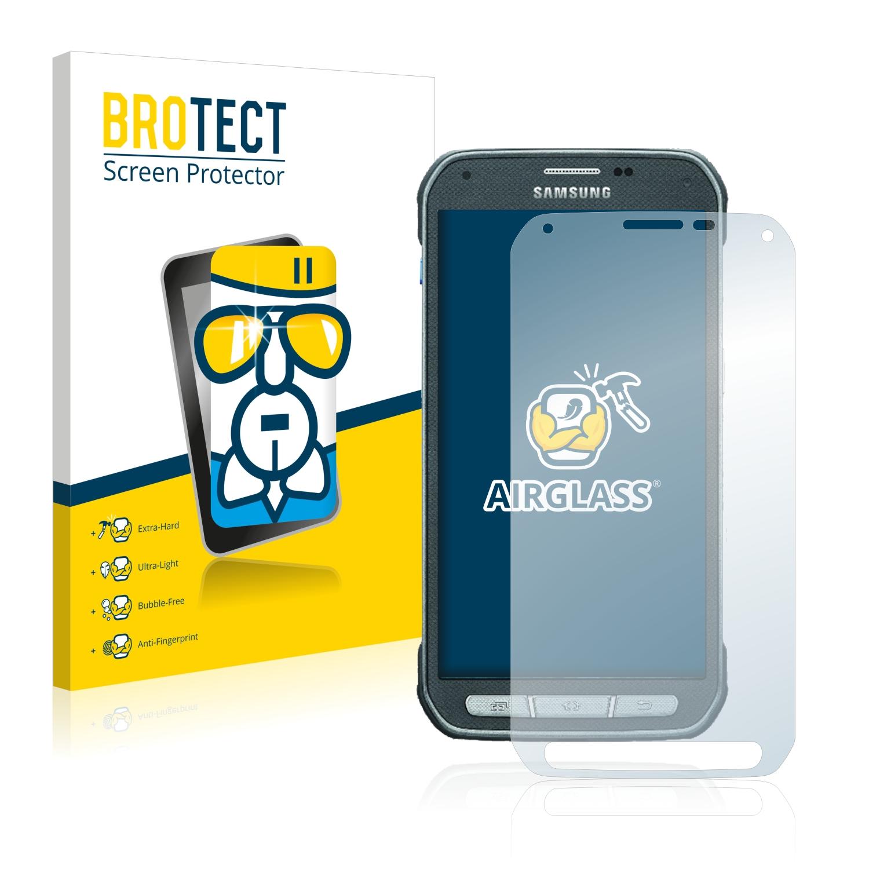 BROTECT AirGlass čirá skleněná fólie pro Samsung Galaxy S5 Active